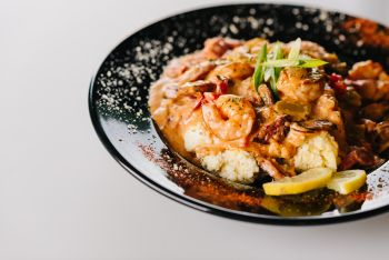 Goombays Grille & Raw Bar, Curry Shrimp
