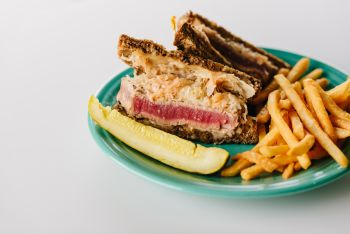 Goombays Grille & Raw Bar, Goombays Tuna Reuben